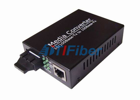 10/100 / 1000Base-T Gigabit UTP Fiber Ethernet Media Converter 0-120KM